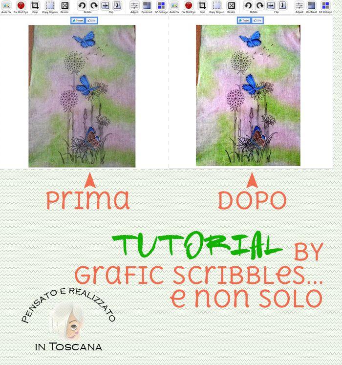 Tutorial: migliorare una foto con un clik-Make a beautiful picture with a click ~ Grafic Scribbles