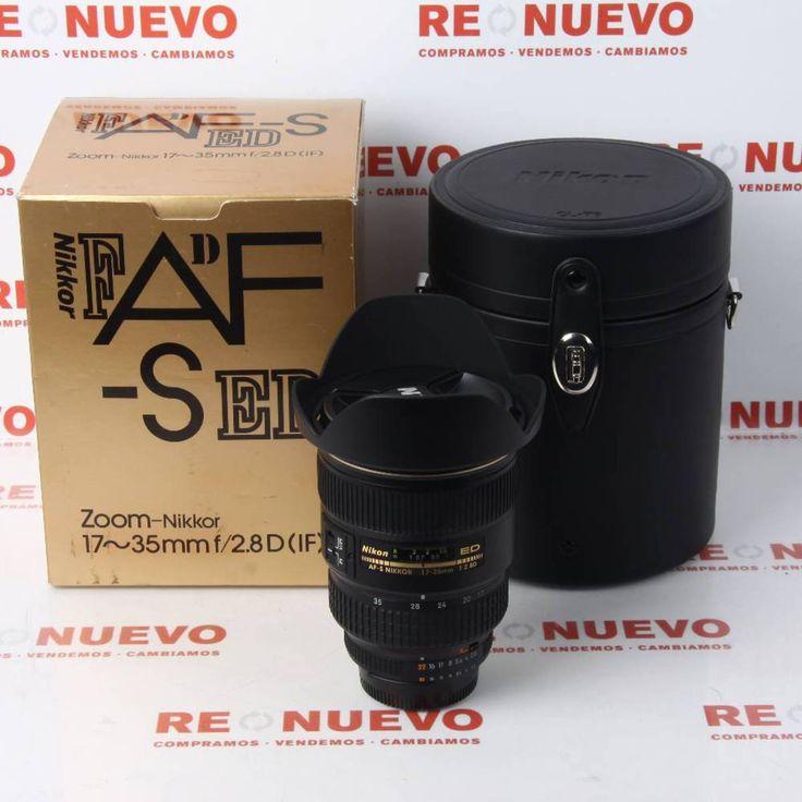 NIKKOR AF-S 17-35mm f2.8 D IF ED de segunda mano E277045   Tienda online de segunda mano en Barcelona Re-Nuevo