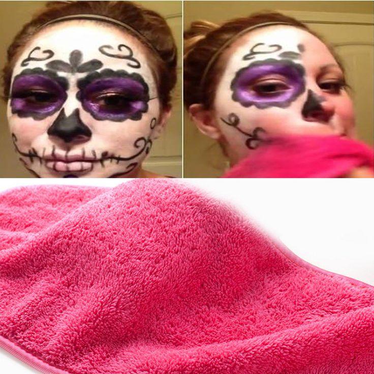 5.55 Makeup Remover Washcloth Reusable Microfiber Cloth