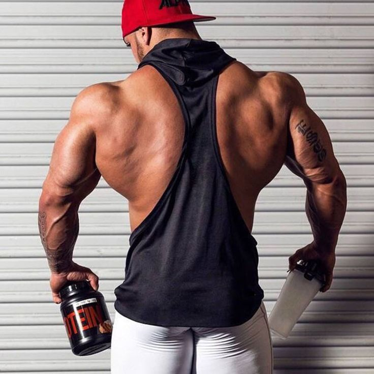 New Gym Muscle Bodybuilding Black Leather Fitness Lifting: 25+ Best Sleeveless Hoodie Men Ideas On Pinterest