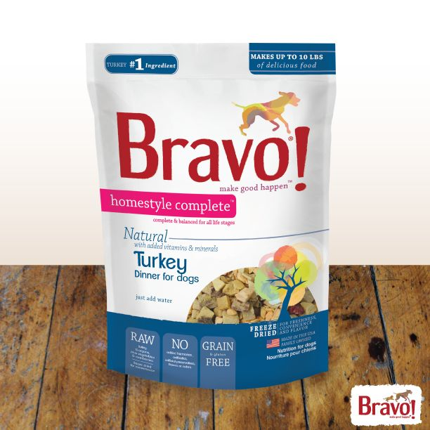 Bravo Homestyle Complete Will Be The Easiest Dish You Ll Make This Thanksgiving Just Mix With Warm Water Raw Dog Food Recipes Dog Food Recipes Turkey Dinner