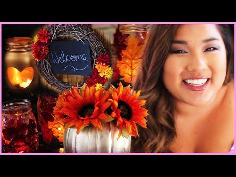 Tumblr Inspired Fall DIY Room Decor With Miss Remi Ashten! - YouTube