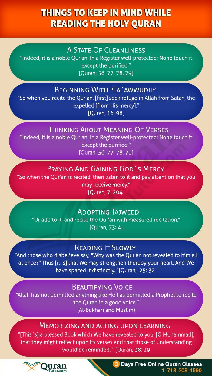 10 Things To Keep In Mind While Reading the Holy Quran #quran