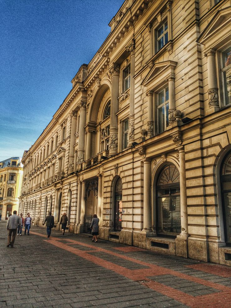 Bucharest, old city Great architecture!✌️