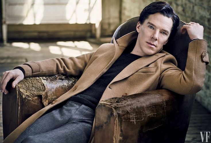 The Cover Shoot: Benedict Cumberbatch Bends Minds