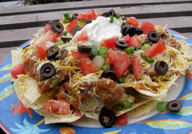 Nachos Supreme. This was sooooo good! I'm definitely making this again. And GREAT for leftovers