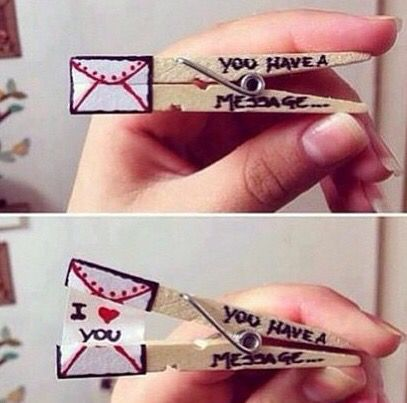Cute little idea that can cheer someone up
