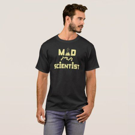 Mad Scientist Electric Science Beaker T-Shirt - tap, personalize, buy right now!