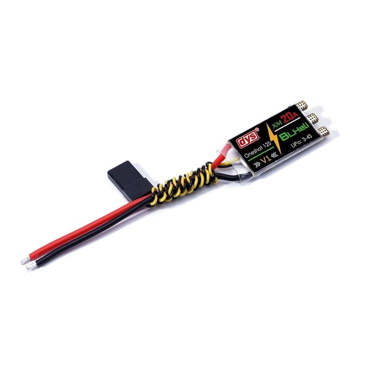 DYS XM Seris XM20A BLHeli mini 20A ESC V1 For High KV Power Electronic Speed Controller