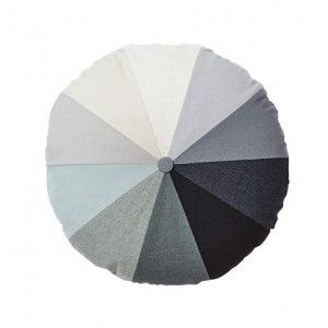Gradient Kissen - Grau