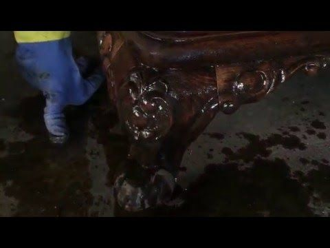 Como retirar barnices antiguos - YouTube