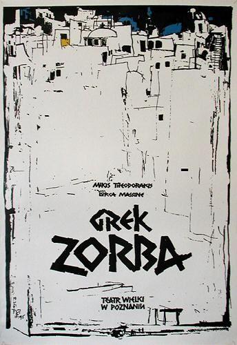 "Zorba the Greek  1995  26.5""x38.5""  artist: Kaja, Ryszard"