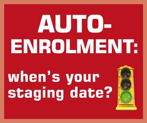 Pensions auto enrolment - when is your staging date?