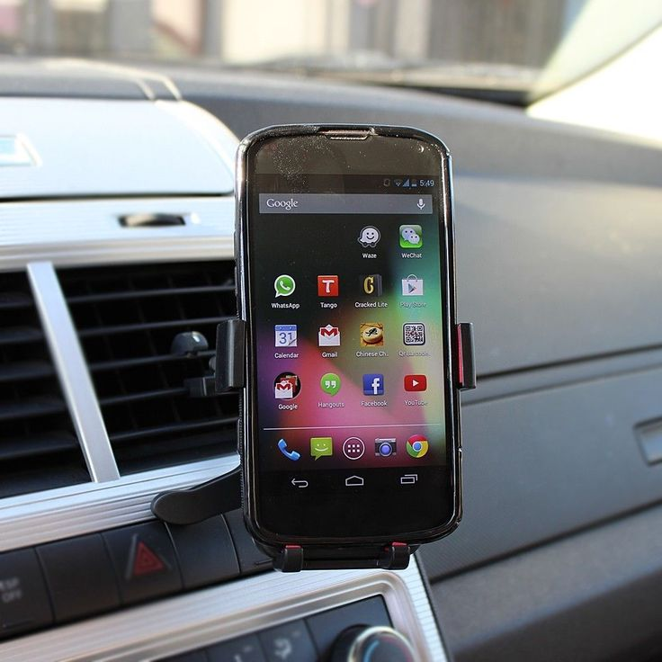Universal Air Vent Car Mount Holder for Cell Phone iPhone 5 Samsung Galaxy S3 S4 | eBay