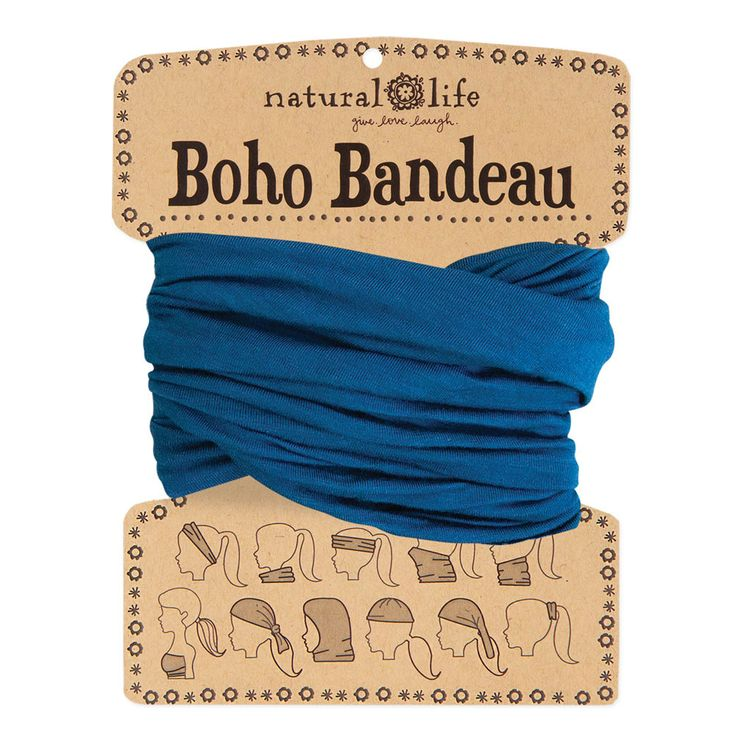 Boho Bandeaus in Solid Teal by natural life