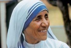 Madre Teresa di Calcutta, al secolo Anjëzë Gonxhe Bojaxhiu - 1910/1997