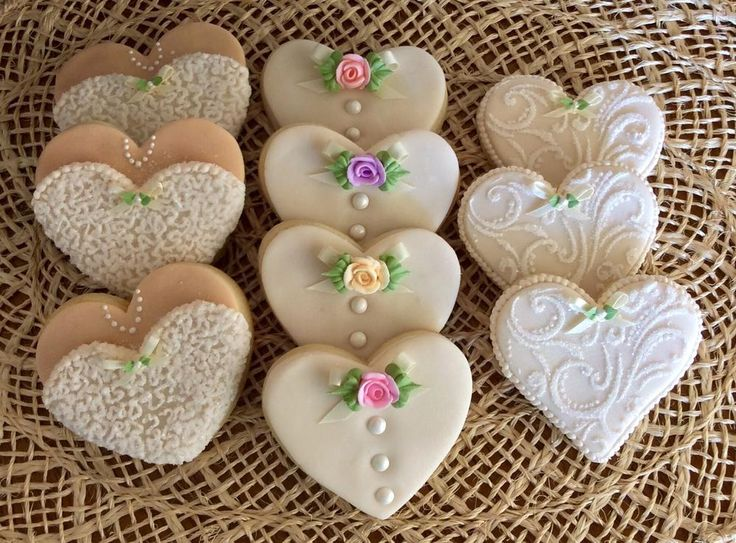 Bridal hearts | Cookie Connection