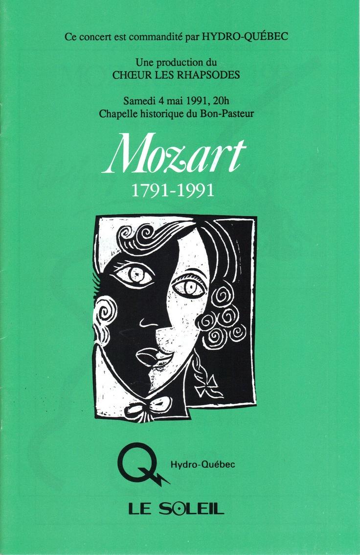 Mai 1991  Mozart 1791-1991  Les Rhapsodes