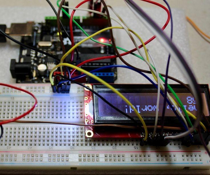 Liquid Crystal Display for Arduino Uno