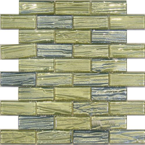 Kitchen Cupboards Secunda: Blue Gold Metallic Wood Texture Backing Glass Mosaic Tile