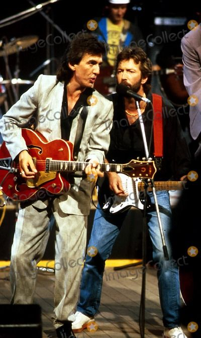 George Harrison Eric Clapton                                                                                                                                                                                 More