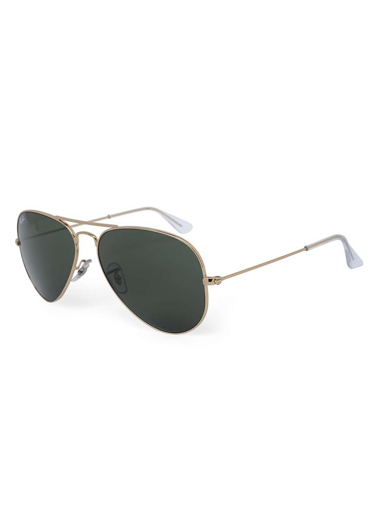 Ray-Ban Golden Aviator Sunglasses