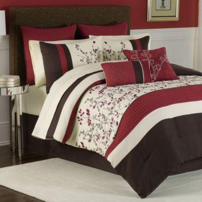 Charice 12-Piece Comforter Super Set - BedBathandBeyond.com
