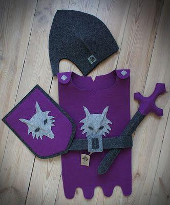 knight costume inspiration
