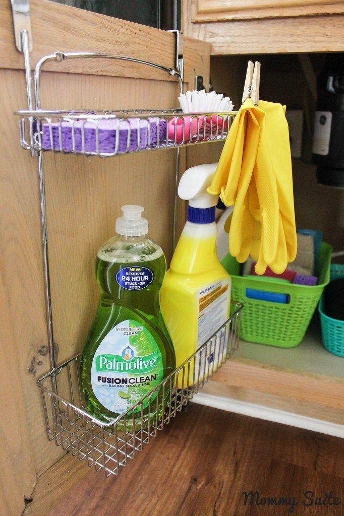 12 Amazing Kitchen Sink Organization Ideas You\u0027ll Regret Not Trying