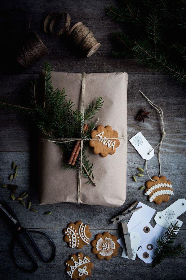 my scandinavian home: 8 beautiful rustic gift wrapping ideas