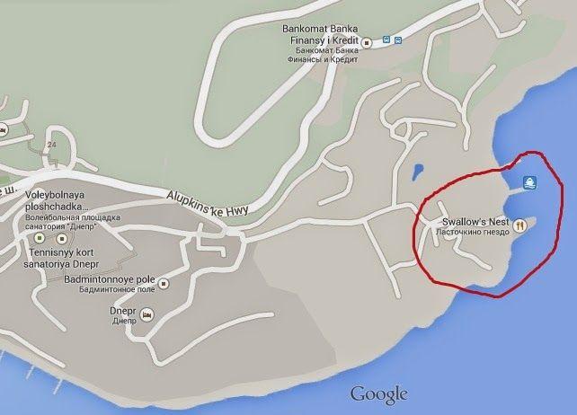 Swallow's Nest Tourist Attraction of Crimea