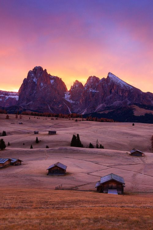 Alpe di Siusi leads you through the heart of the legendary Dolomites in the Alps.