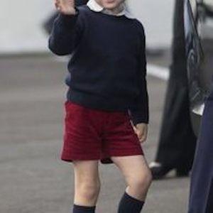 ジョージ王子がいつも半ズボンを履いている理由