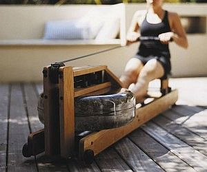 Water Rowing Exercise Machine