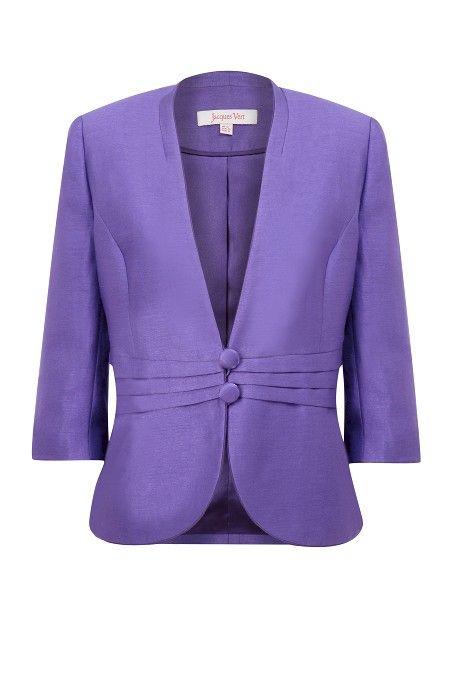 Royal Purple Occasion Jacket