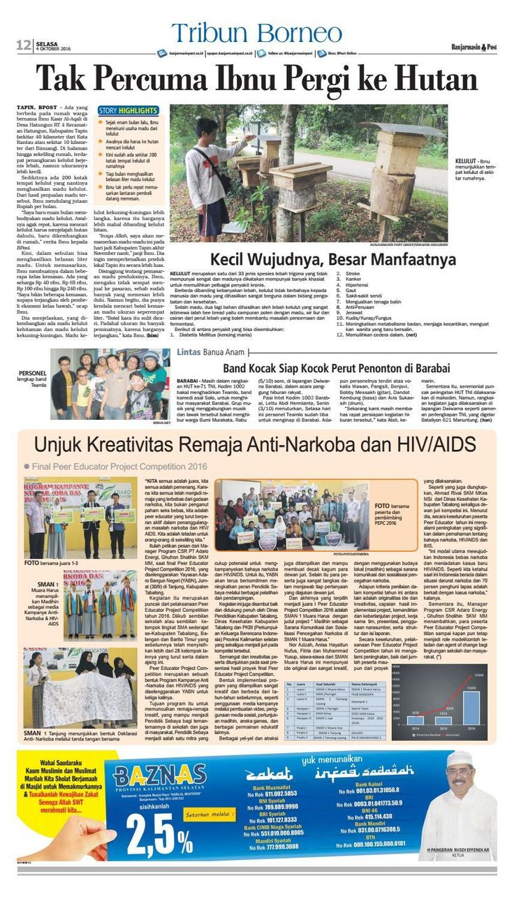#ClippedOnIssuu from Banjarmasin Post Selasa 4 Oktober 2016
