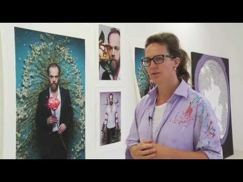 ▶ Artist Del Kathryn Barton in her studio - YouTube