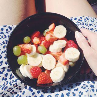 Yum! fruit zomer healthy foodporn instafood nomnomnom