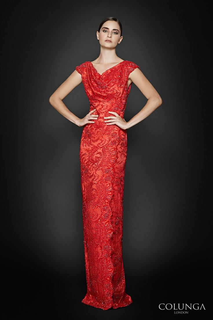 Louise de Lorraine. Gown of hand-beaded French lace and Italian silk. The ultimate luxury. COLUNGA London #couture