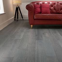 Mega Deal Engineered Oak Flooring 150mm Sky Grey