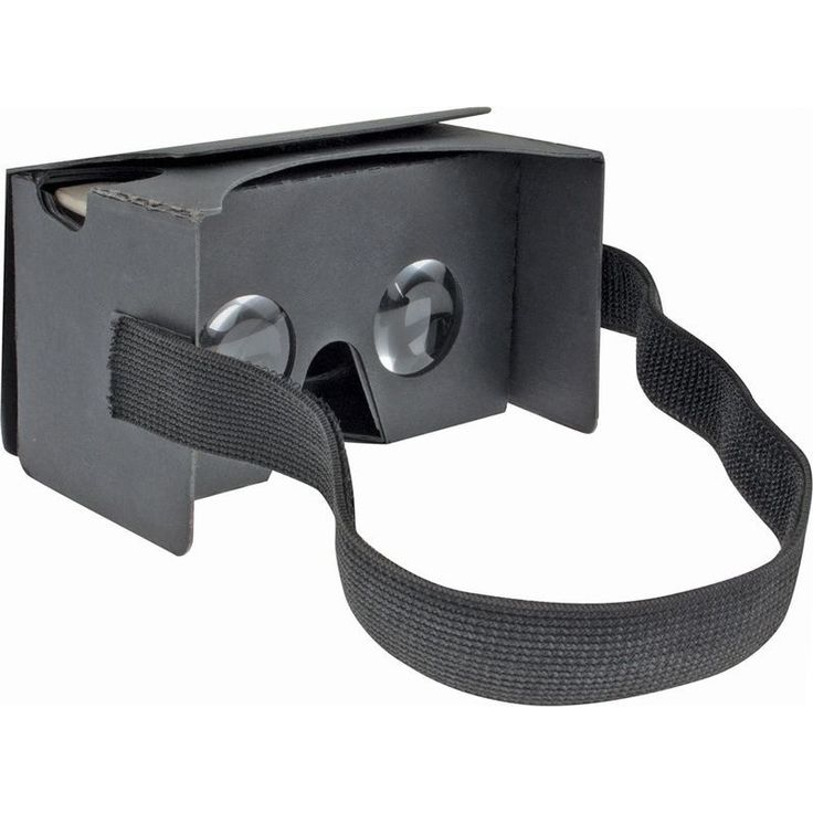 Google Cardboard V2 Virtual Reality Headset - Black | Buy Gaming