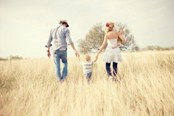 foto di famiglia da crist