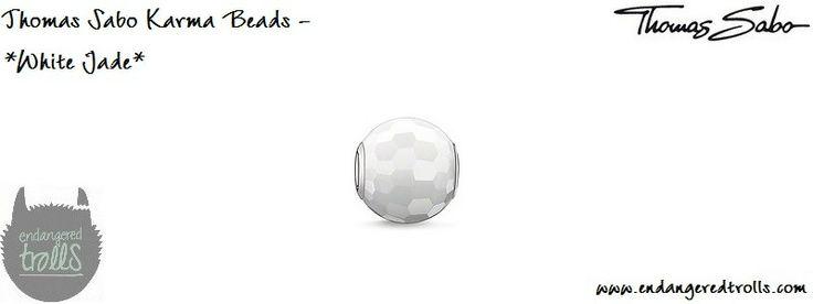 Thomas Sabo Karma Beads White Jade