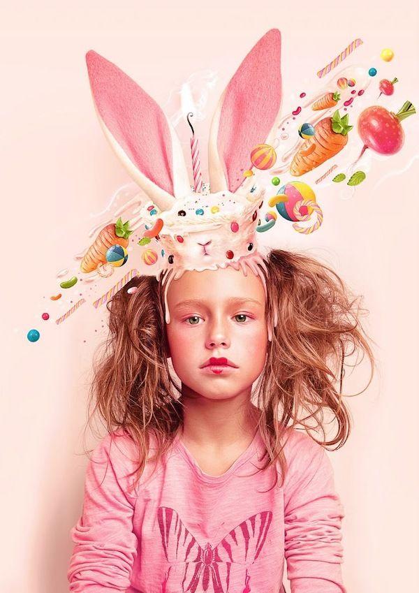 Sweet Monsters by Miriam Moshinsky, via Behance