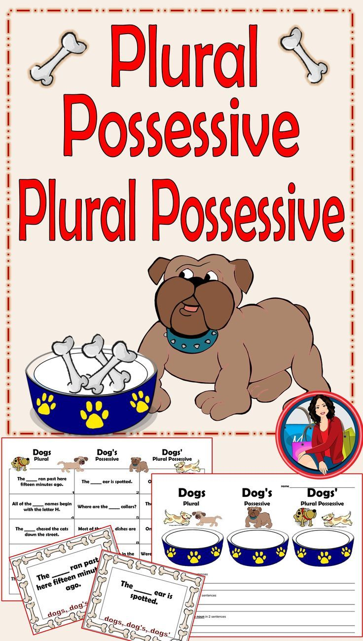 what is a plural possessive form