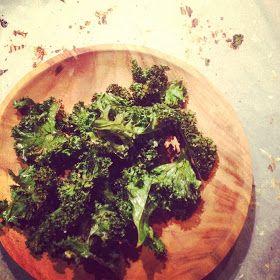 Katrines (glutenfrie) kokkerier: Grønkåls-chips