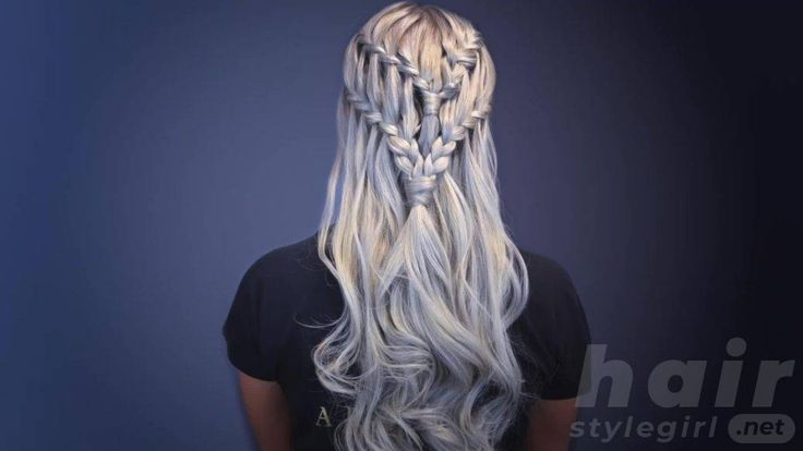 Waterfall Braid Hairstyles For Your Beautiful Lock…