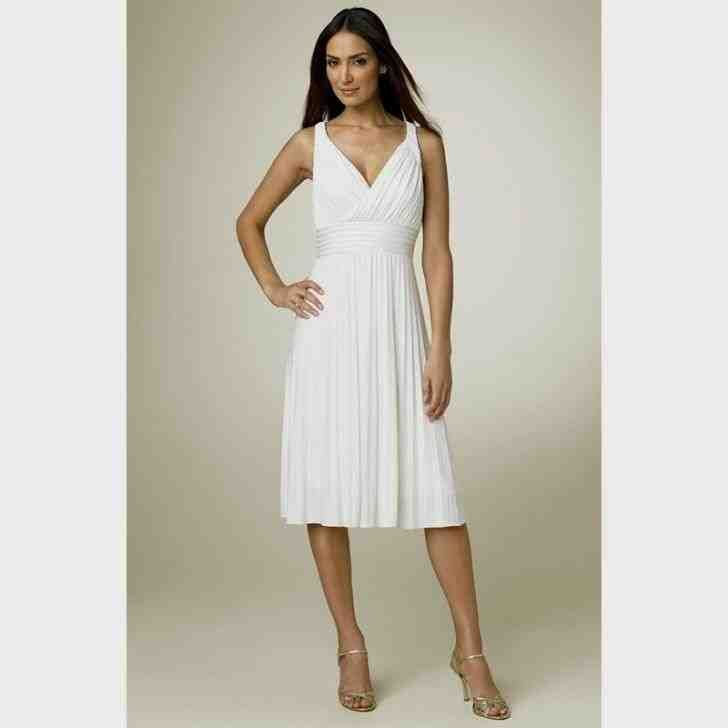 Casual Second Wedding Dresses: Second Wedding Dresses Tea Length