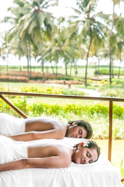 Your next escape is Sereno Spa at @parkhyattgoa, where ancient Ayurvedic and yogic healing traditions are infused with the revitalizing allure of the Arabian Sea. {Park Hyatt Goa Resort & Spa}