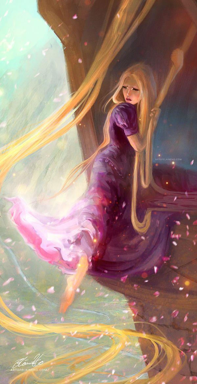 Rapunzel by enveniya.deviantart.com on @DeviantArt